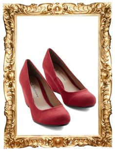 8687ac6b4ac Find Your Feat Wedge in Ruby -  49.99 Vintage Heels
