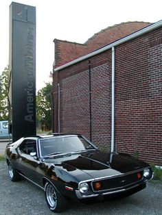 1974 AMC Javelin AMX ... wow ... who knew AMC made a cool car.