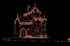 Tanglewood Park Christmas Lights near Winston-Salem, NC