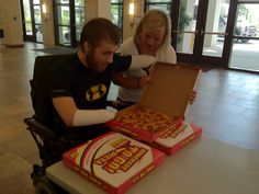 Hope For The Warriors®: Special Delivery.  Read the story of how pizzas were delivered 1,000 miles away.