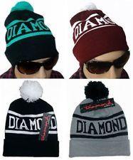 Hip-Hop Unisex chic DIAMOND SUPPLY CO Beanie men's women's knit cap wool Hats