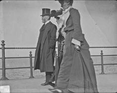 vintage everyday: Street Scenes in Ireland from between 1890-1910.  Bray seafront