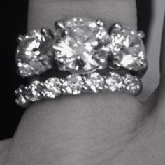Tiffany and Co. Rings... Thanks, Babe! Almost 10 years!