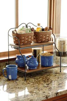 12 Best Kitchen Countertop Ideas That Will Keep Your Kitchen Organized - Crafts On Fire