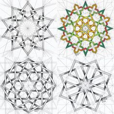 """Mi piace"": 276, commenti: 3 - Regolo Bizzi (@regolo54) su Instagram: ""#islamicdesign #islamic_art #islamicgeometry #arabianart #geometry #symmetry #pattern #star…"""