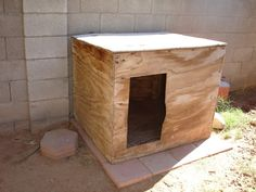 Easy Dog House Plans