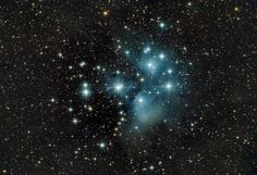 The Pleiades star cluster dazzles brilliantly in this deep-exposure, widefield photo recently sent in to SPACE.com by veteran astrophotographer Josh Knutson.