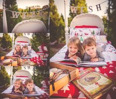 Milk and cookies holiday mini session with Tara Merkler Photography in Central Florida