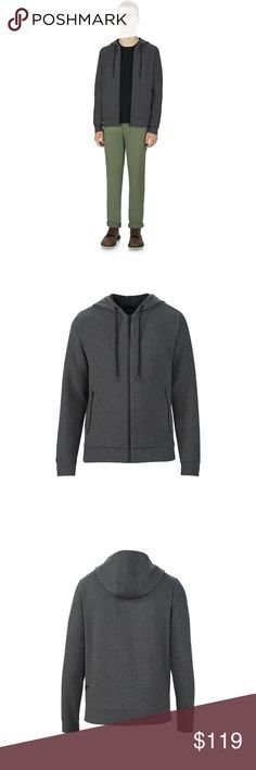 UAS Men's tailgate hoodie Water-resistant, breathable DWR finish. Midweight, ultra-soft jersey fabric. Performance fabric hood & yoke lining. Taped side seams. Tailored fit. Polyester/Cotton/Elastane. Fitted. Under Armour Sportswear Sweaters