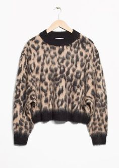 & Other Stories | Fuzzy Leopard Jumper