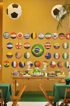 Festa Copa do Mundo. - Mamãe eu Kero