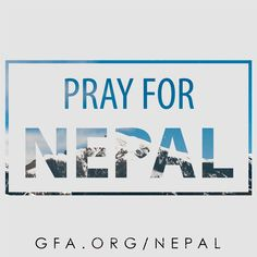 """Another deadly earthquake shook Nepal on May 12, 17 days after the first earthquake devastated the nation. """"There is fear among everyone… People who have already lost so much are beginning to lose hope."""" — a GFA-supported photojournalist. Currently, Gospel for Asia is continuing relief efforts in Nepal. Please join us in prayer for this nation: http://www.gfa.org/earthquake/nepal/?motiv=WB54-PNER&cm_mmc=Pinterest-_-WM-_-PhotoLink-_-NepalEarthquake #PrayForNepal"""