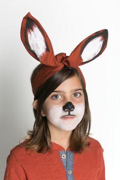 DIY fox headwrap.