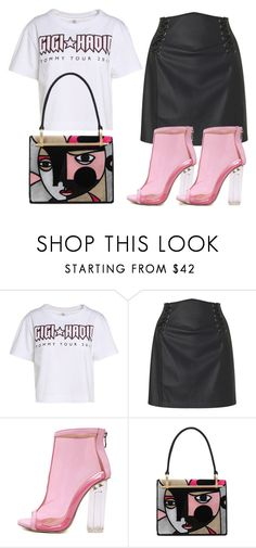 """""""Untitled #982"""" by polyvorebyv on Polyvore featuring Tommy Hilfiger, Miss Selfridge, WithChic and Prada"""