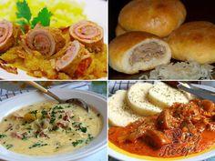 20 nejlepších sezónních receptů z kysaného zelí, strana 1 Mashed Potatoes, Shrimp, Cabbage, Food And Drink, Soup, Snacks, Dishes, Meat, Chicken