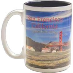 """The 15 oz Foto Two Tone ceramic mugs comes with a white exterior and with PMS corresponding colored interior. Mug size is 4.5"""" x 3.4"""". Foto Bucket Line is here to give you the perfect method to add any full color images to all forms of popular drinkware products. This is a great canvas for corporate logos to the artist looking for a perfect place to showcase their creative side. Hand washing ceramic drink wear recommended."""