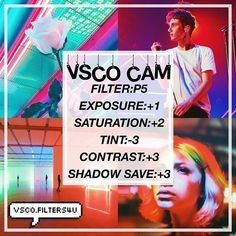 (Bella)️  Bright Filter ☁️  Looks best with any neon pictures ‼️  Click the link in my bio to get free vsco filters ❤️  Get this to 60 likes for another tutorial   Dm us with suggestions ____ qotd: do you like troye sivan?  aotd: he's one of my favorite people Vsco Cam Filters, Vsco Filter