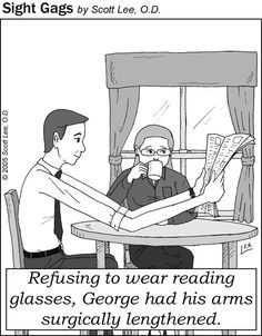 Best Optometrist serving Beverly Hills, CA. Contact us at or visit us at 212 South Robertson Blvd, Beverly Hills, CA Beverly Hills Optometry Funny Cartoons, Funny Memes, Funny Art, Optometry Humor, Optometry Office, Eye Jokes, Doctor Humor, Eye Exam, Eye Doctor