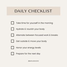 ⬆ I've made your to-do list for today ⬆