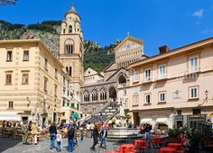 Amalfi Cathedral and square