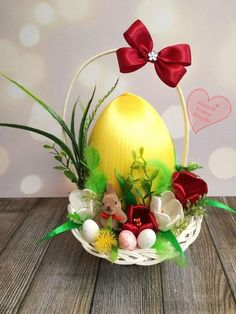 Fun Crafts For Kids, Christmas Crafts For Kids, Xmas Crafts, Easter Crafts, Easter Flower Arrangements, Easter Flowers, Easter Tree Decorations, Homemade Christmas Decorations, Disney Diy Crafts