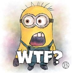 WTF? #minions #minion #branding #wtf #what #paint #mimoň #co? #paint #kresba #malba #draw Bart Simpson, Branding, Yellow, Drawings, Banana, Painting, Fictional Characters, Marketing, Digital