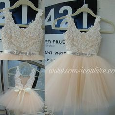 Check out this item in my Etsy shop https://www.etsy.com/listing/514450362/low-cut-back-couture-flower-girl-dress