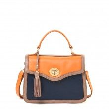 Boutique Turn-Key Satchel Navy - Classic - Perfect!#spartina449