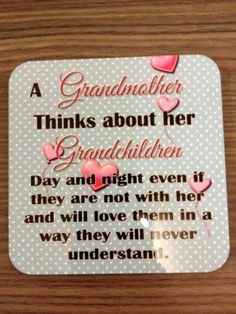 Grandparents (thinking about my precious grand daughter soon to be born)
