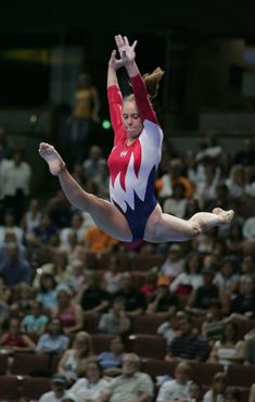 Hollie Vise - U.S. Gymnastics Olympic Team Trials - June 2004