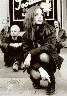 shirley-manson-of-garbage-nice-legs-post.jpg - Shirley Manson of Garbage (nice legs post) - 1 of 24 90s Grunge, Grunge Look, Grunge Style, Soft Grunge, Grunge Outfits, 90s Style, Shirley Manson, Music Love, Music Is Life