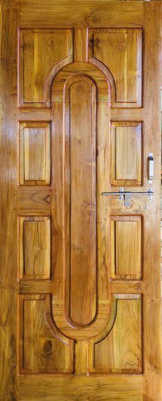 Indian Window Design, Indian Main Door Designs, Single Main Door Designs, Wooden Front Door Design, Wooden Front Doors, Traditional Front Doors, Room Door Design, Tree Wallpaper, Single Doors