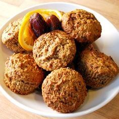Orange Date Muffins, a recipe from the ATCO Blue Flame Kitchen.