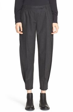 ELEVENTY Double Pleat Trousers available at #Nordstrom