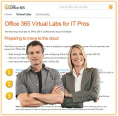 Office 365 Virtual Labs for IT pros The Following Series, Technology Management, Office 365, Microsoft Office, Labs, Cloud, Infographic, Study, How To Get