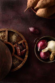 Masala Sweet Potatoes
