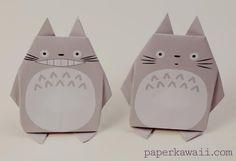 PAPERMAU: My Neighbor Totoro - Easy-To-Build Totoro Origami - by Paper Kawaii