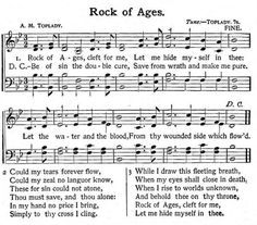 rock of ages signification pdf
