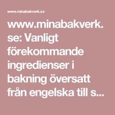 www.minabakverk.se: