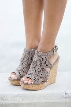 These wedges are perfect for if you are wondering what to wear for graduation!