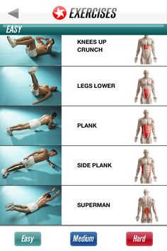 Here is the full Ab Workout if anyone was interested - Imgur | Abs Easy Exercises 2