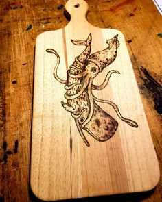 """Patrick Tucker on Instagram: """"Bread board looking clean!🔥🔥🔥 I love getting the chance to change up the surface every so often it really opens my eyes back up to what all…"""" Giant Squid, Open My Eyes, Bread Board, Surface, Change, Cleaning, Fish, My Love, Instagram"""