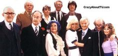 """Are You Being Served?"" So silly, such sophomoric, well, even moronic humor.  But funny because of the wonderful cast."