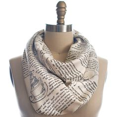 4302b14ad1f Wrap up with a good Book Scarf! Let everyone know about your great taste in