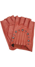 Karl Arche studded leather gloves