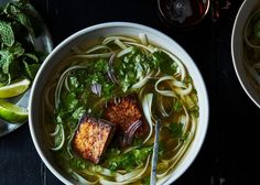 Vegan Pho (With 'secret' nutritional yeast umami flavour trick)