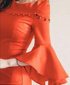 Latest stylish designer full sleeves designs for kurti You can try with kurtis, kurtas, salwar kameez, anarkali suits also. Kurti Sleeves Design, Kurta Neck Design, Sleeves Designs For Dresses, Dress Neck Designs, Saree Blouse Designs, Sleeve Designs, Plain Kurti Designs, Kurta Designs Women, Plain Dress