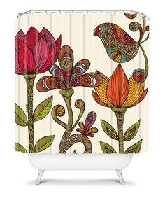 Take a look at this In the Garden Shower Curtain today! #aff
