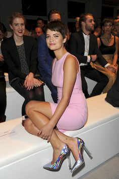 Pixie Geldof. Paula Yates and Michael Hutchence INXS daughter. She has Michaels eyes.