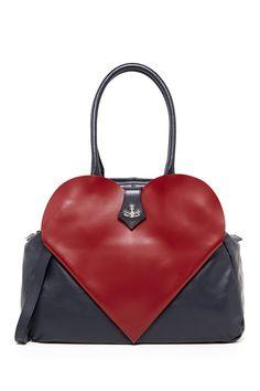 Heart Satchel by Vivienne Westwood on @HauteLook